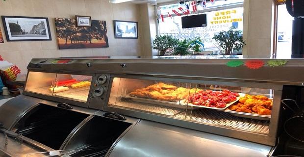 Crystal Palace'da Satılık Fish and Chips