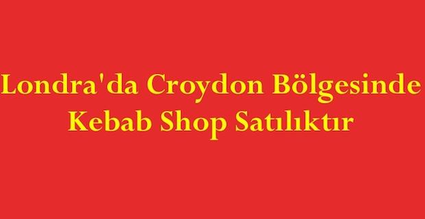 Londra'da Croydon Bölgesinde Kebab Shop Satılıktır