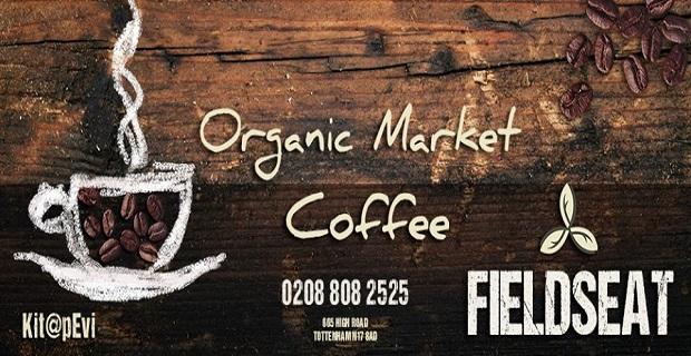 Londra'da Fieldseat Organic Market (Kit@pevi) Kitap Şenliği