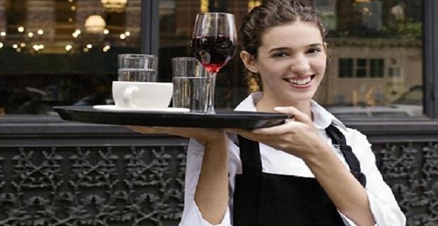 Londra'da İngilizce Bilen Bayan Garson Aranıyor