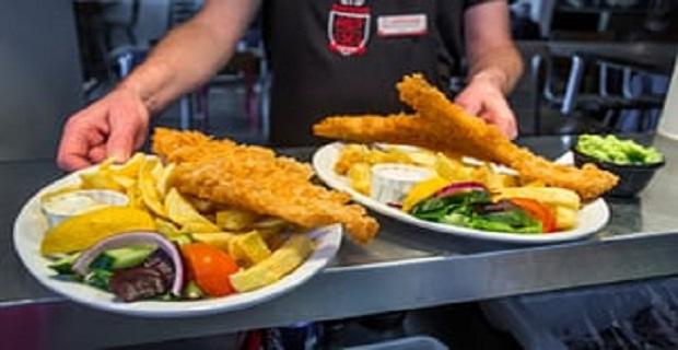 Londra'da Satılık Fish and Chips