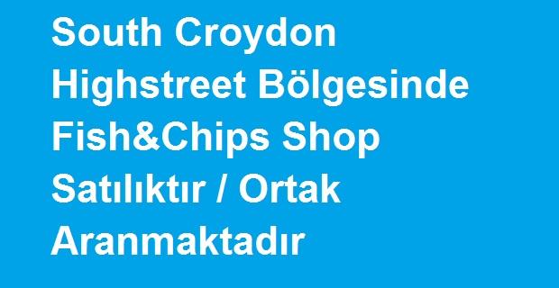 Londra'da Satılık Fish and Chips Shop