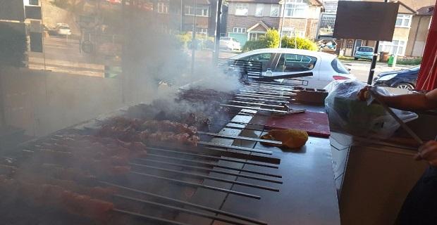 Londra'da Satılık Kebab Shop