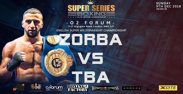 Super Series Boxing ZORBA vs TBA