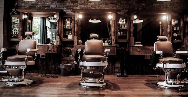 Londra'nın göbeğinde Satılık Barber Shop