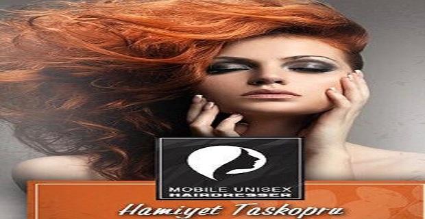 Londra'da Mobil Unisex Hairdresser