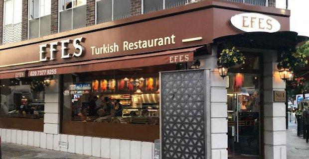 Londra Efes Restoranında elemanlar aranıyor