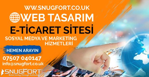 Snugfort ile Web Tasarım, Sosyal Medya ve Marketing Hizmetleri