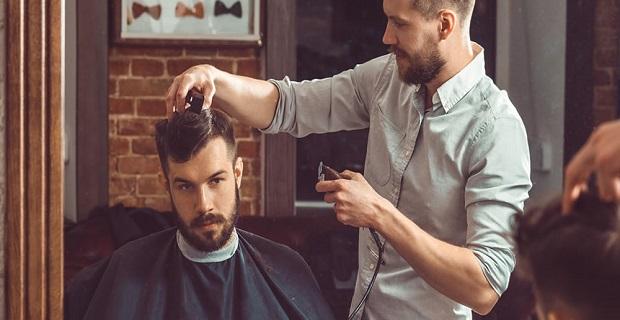 Londra'da Mobile Barber