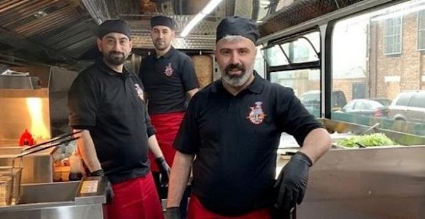 Last Stop Kebab otobüsü Londra Edmonton'da