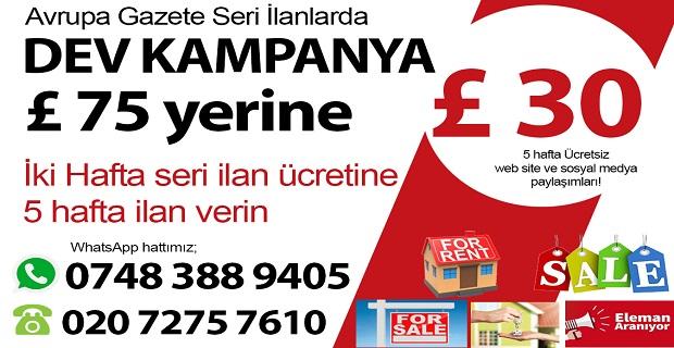Avrupa Gazetesi'nden kaçırılmayacak kampanya!