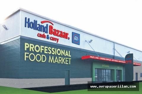 Londra'da Holland Bazaar'da çalışacak 7.5 ton ve üzeri tır kullanacak şoförler aranıyor