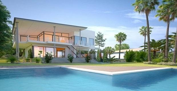 Yalıkavak havuzlu sitede sezonluk kiralık villalar