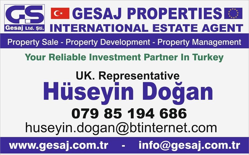 GESAJ PROPERTIES INTERNATIONAL ESTATE AGENT