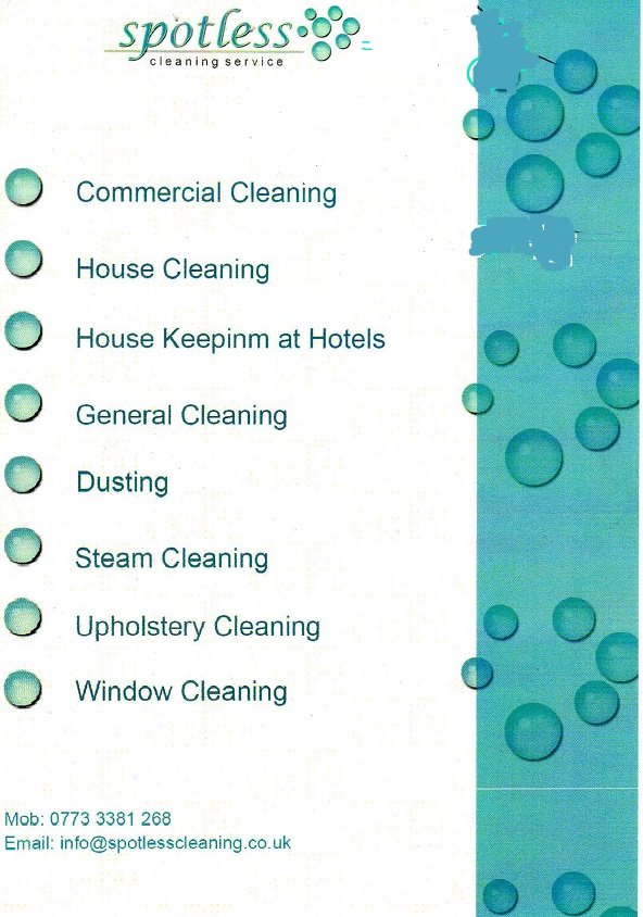London Spotless-Cleaning Services