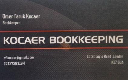 KOCAER BOOKKEEPING London