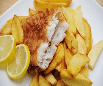 Hastings Bölgesinde Satılık Fish and Chips 26 Nisan 2017