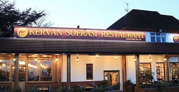 Londra Kervan Restoranda Bayram Keyfi