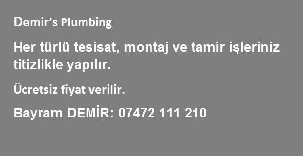 Londra'da Demir's Plumbing