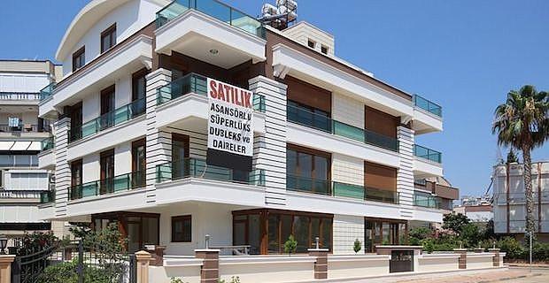 Antalya'da satılık lüks daireler