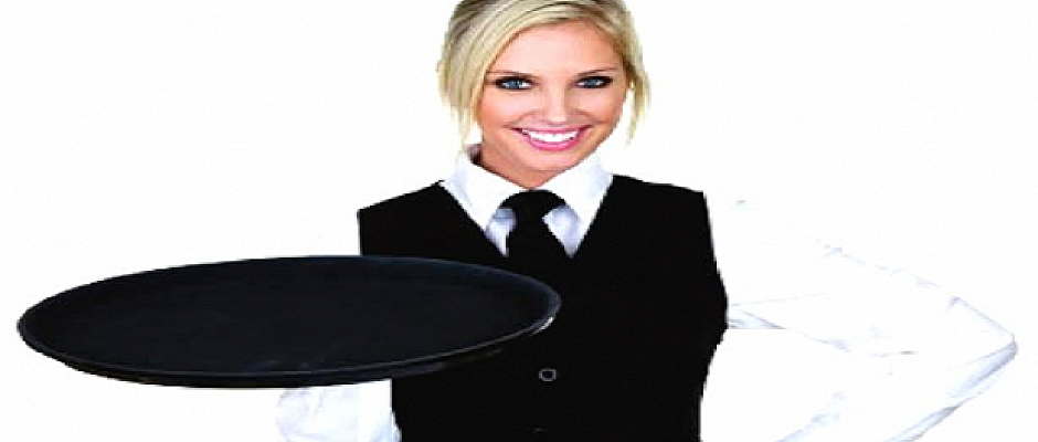 Restaurantta çalışacak bay ve bayan garson aranıyor!