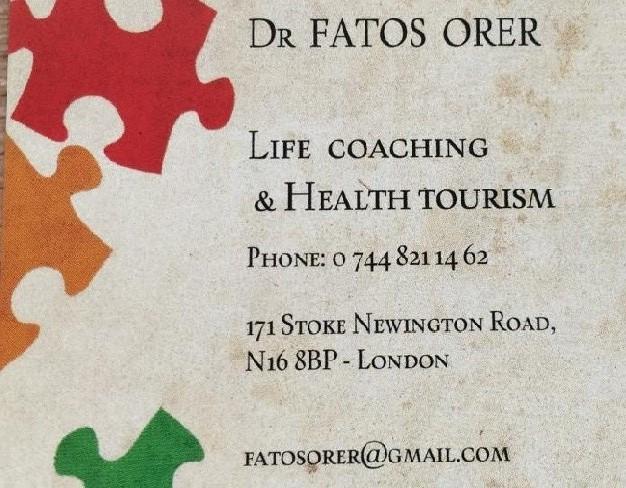 Dr. Fatoş Örer Yaşam Koçluğu