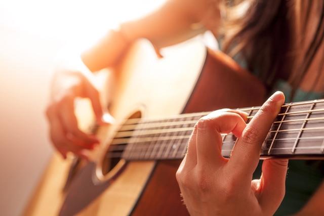 Professional guitar and bass guitar lessons