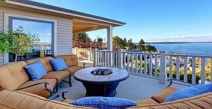Özel plajlı, site içerisinde satılık villa