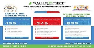 SNUGFORT E-ticaret ve Web Tasarım Paketleri