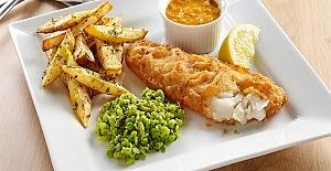 Kent bölgesinde Fish amp; Chips#039;ten...