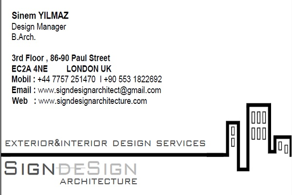 SIGN DESIGN ARCHITECTURE London