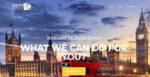 Londra'da Zoom Event