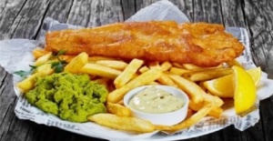 Sidcup Bölgesinde Fish and Chips Kebab Restorana Şef