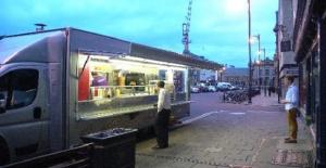 Londra'da Satılık Kebab Van