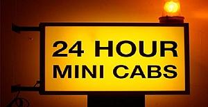 Londra'da Minicab Ofisine Şoförler