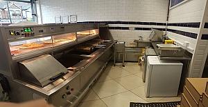 Enfield Town'da Satılık Fish and Chips