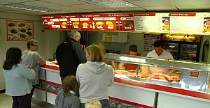 Harlesden Bölgesinde Londra İçinde Satılık Fish and Chips