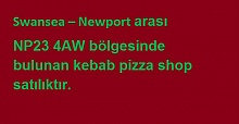 Londra'da Satılık Kebab and Pizza Shop