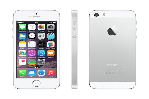 Apple iPhone 5s Silver 16GB SIM Free Smartphone